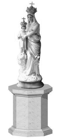 Jomfru Maria statue